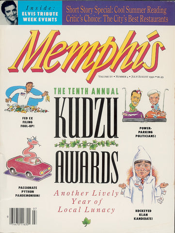 July/August 1990, Memphis magazine
