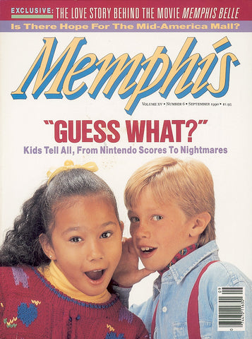 September 1990, Memphis magazine