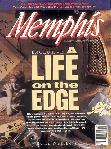 November 1991, Memphis magazine