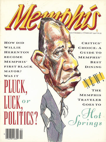 February 1992, Memphis magazine
