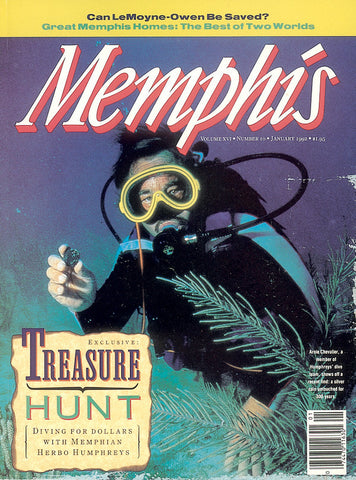 January 1992, Memphis magazine