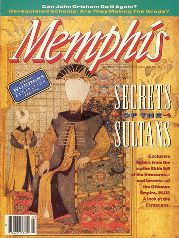 March 1992, Memphis magazine