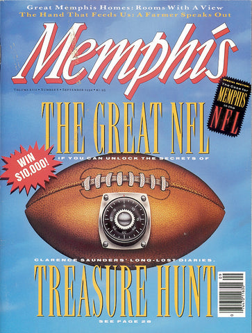 September 1992, Memphis magazine
