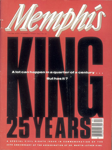 April 1993, Memphis magazine