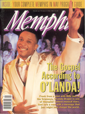 May 1994, Memphis magazine