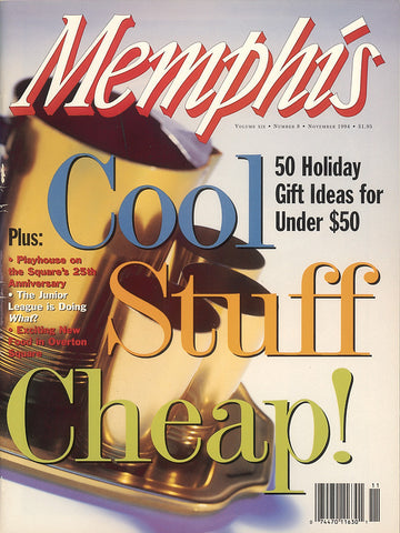 November 1994, Memphis magazine
