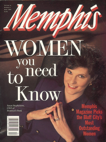 April 1995, Memphis magazine