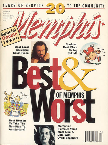 December 1995, Memphis magazine