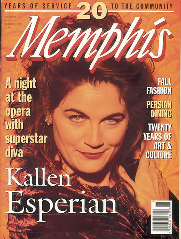 November 1995, Memphis magazine