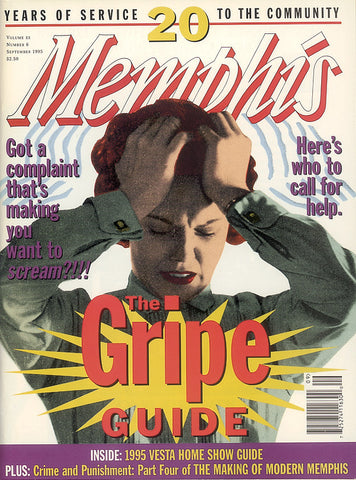 September 1995, Memphis magazine