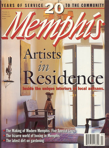 March 1996, Memphis magazine