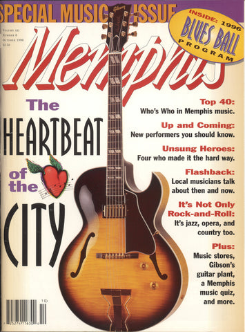 October 1996, Memphis magazine