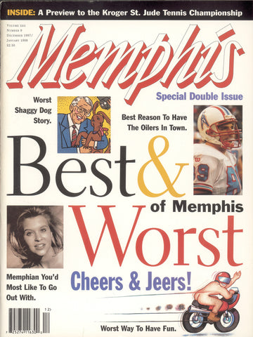 January 1998, Memphis magazine