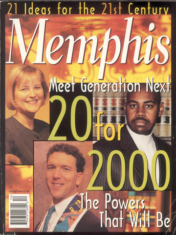 January 2000, Memphis magazine