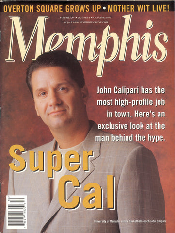 October 2000, Memphis magazine