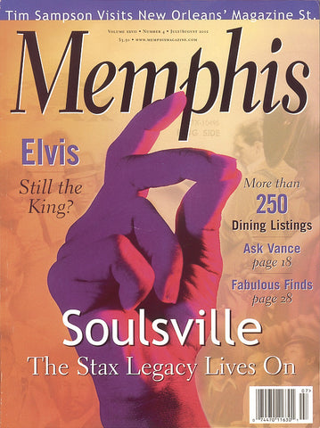 July/August 2002, Memphis magazine