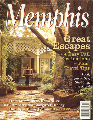 October 2004, Memphis magazine