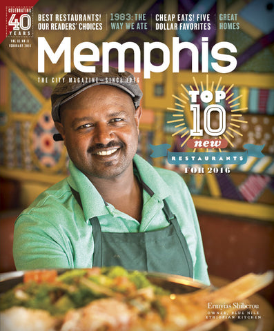 February 2016, Memphis magazine