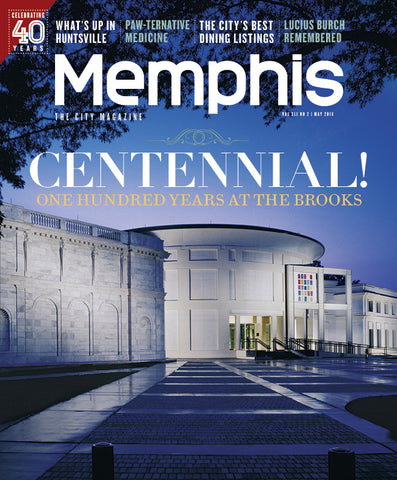 May 2016, Memphis magazine