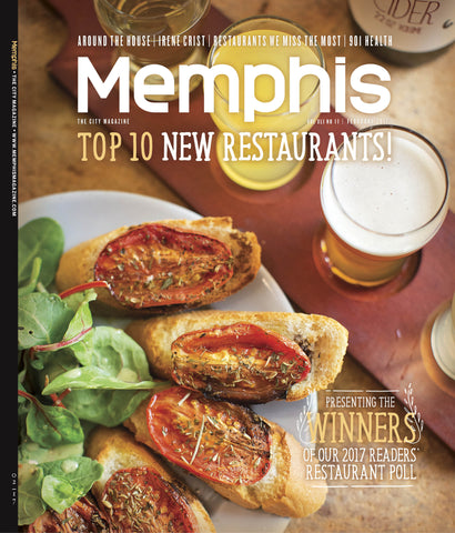 February 2017, Memphis magazine