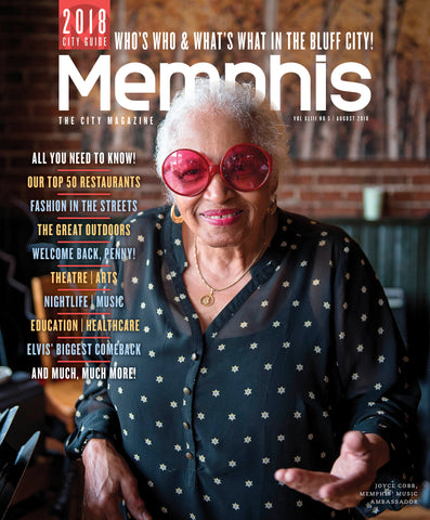 August 2018, Memphis magazine