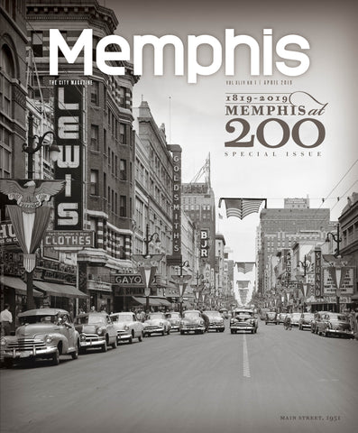 April 2019, Memphis magazine - OUT OF STOCK