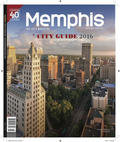 August 2016, Memphis magazine