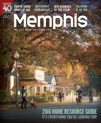 January 2016, Memphis magazine