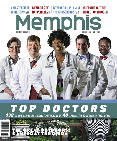 July 2015, Memphis magazine