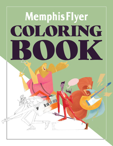 Memphis Flyer Coloring Book