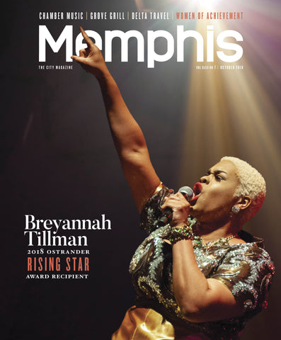 October 2018, Memphis magazine