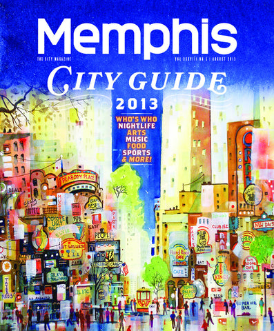 August 2013, Memphis magazine