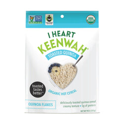 I Heart Keenwah Toasted Quinoa Flakes Hot Cereal