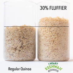 Toasted White Quinoa (12oz)