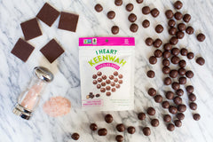 Chocolate Puffs, Dark Chocolate Himalayan Pink Salt (2.5oz)