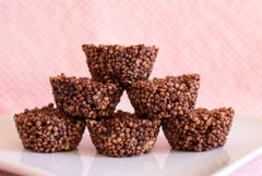 Quinoa Coco Crispies (Serving Suggestion)