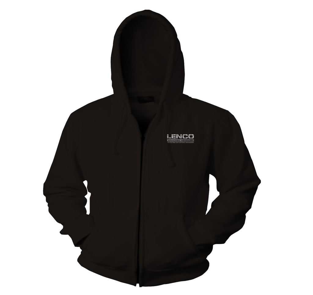 Lenco BearCat Hooded Zip-Up Sweatshirt