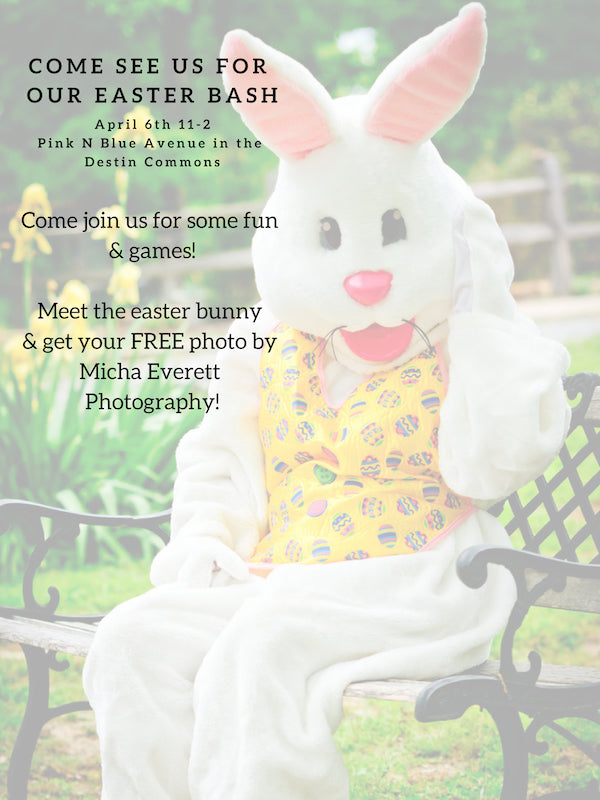 Join us for Easter celebration and FREE pictures with Bunny!