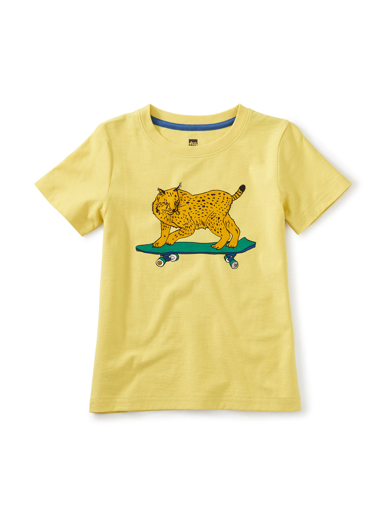 Skate Lynx Graphic Tee