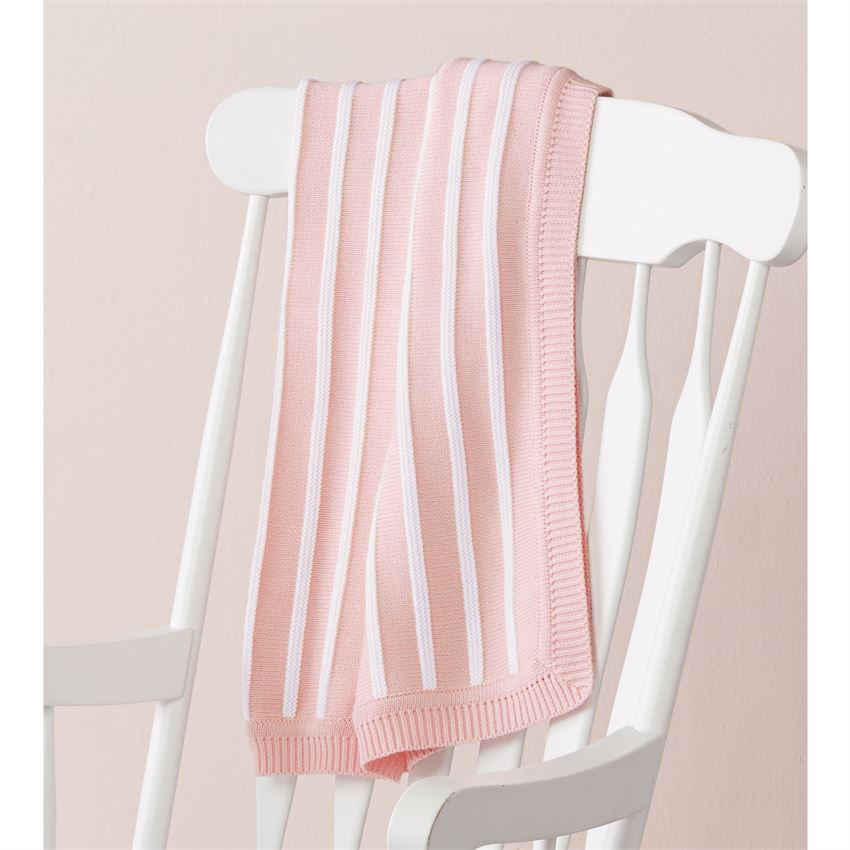 PINK STRIPE BLANKET