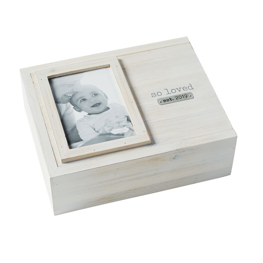 PHOTO KEEPSAKE BOX SO LOVED