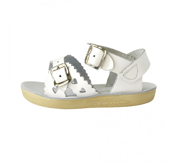 'Sweetheart' Salt Water Sandals white style 1403
