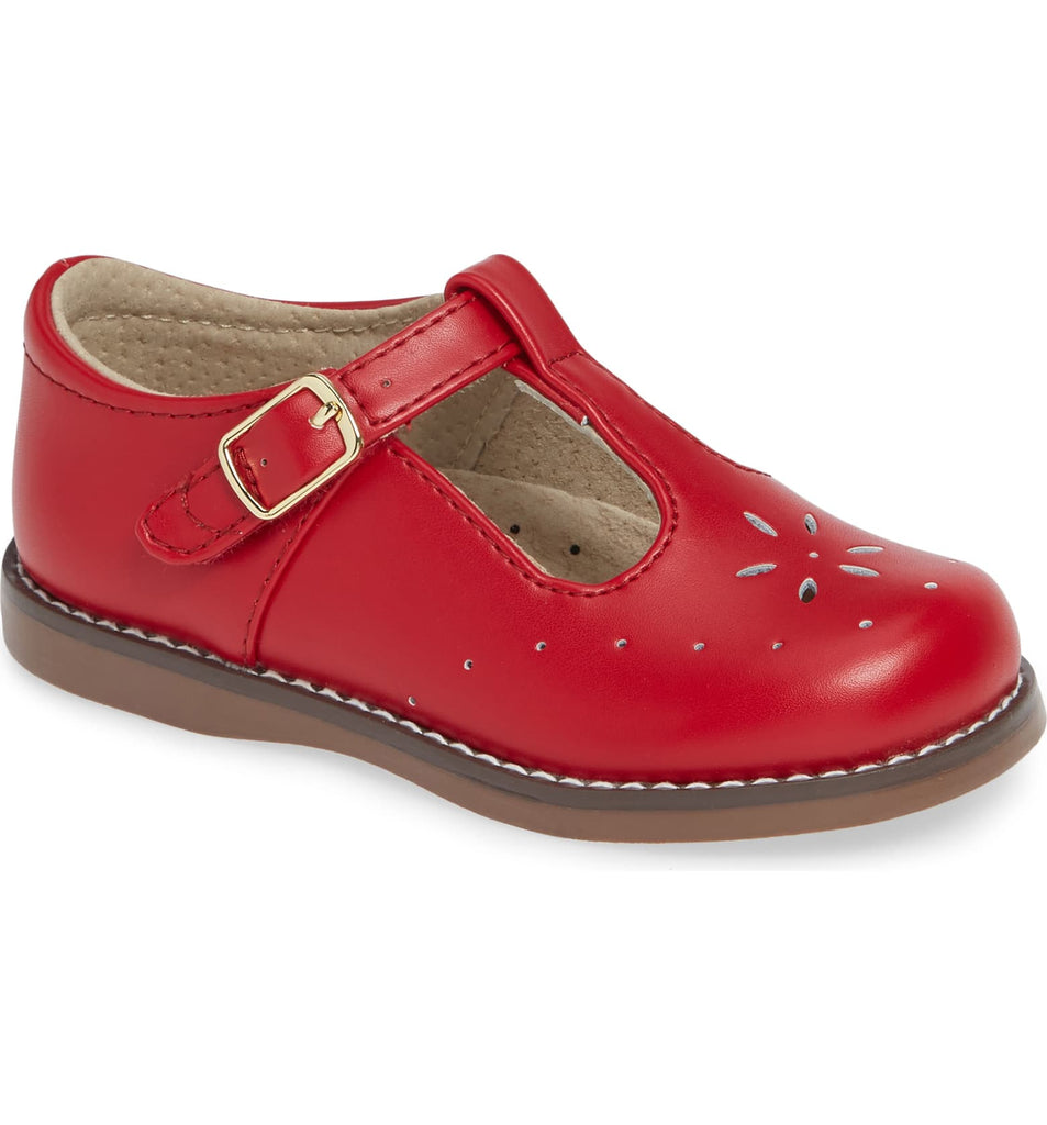 Sherry Mary Jane FOOTMATES Apple Red