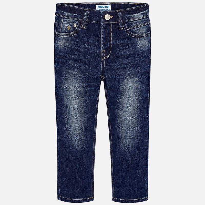 Boys Faded  regular Blue Denim Jeans style 40