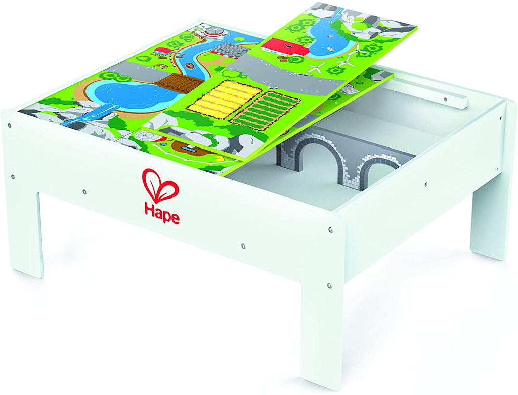 Railway Play And Stow Storage And Activity Table