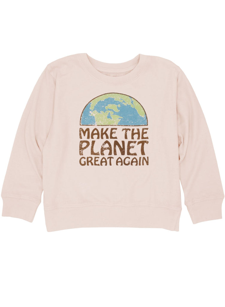Make The Planet Great Again Long Sleeve
