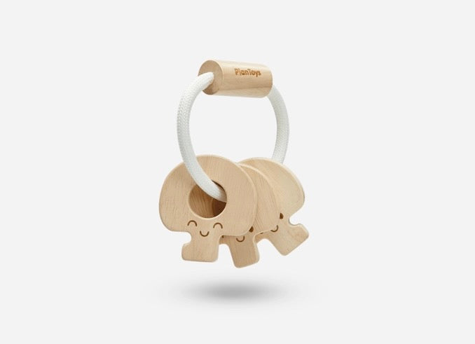 Natural Baby Key Rattle
