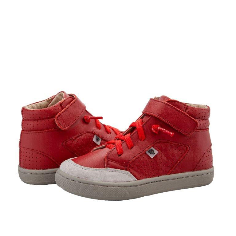 Buddy red/grey high top