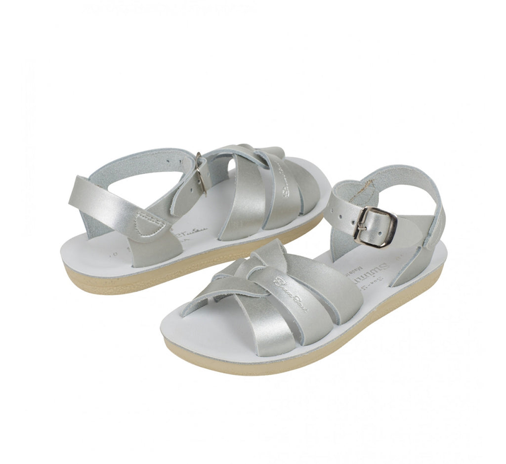 Swimmer Saltwater sandals Silver style 8012