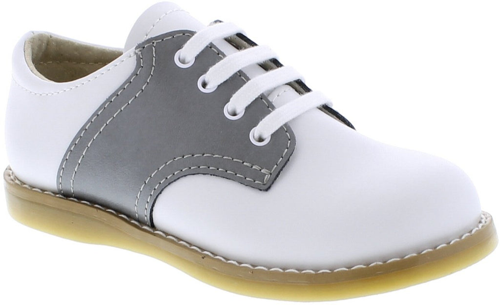 Cheer Oxford FOOTMATES gray/ white